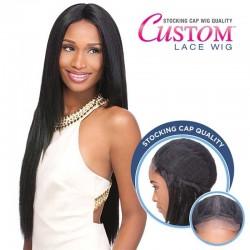 "Lace Wig Custom Yaki 30"" Sensationnel"