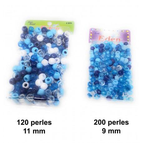Perles pour cheveux (différentes tailles et couleurs disponibles)