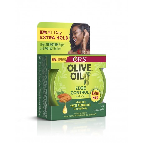 Organic root stimulator - Olive oil edge control hair gel (64g)