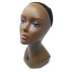 Tête mannequin noire Sensationnel pour perruques ou tissages maison