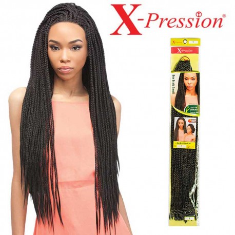 Crochet braids Xpression Box braid small