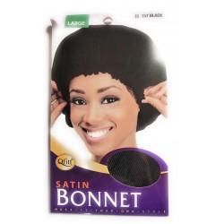 Bonnet large noir Qfitt