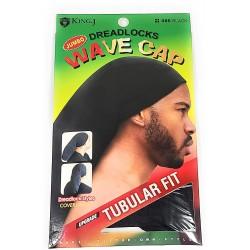 Bonnet fin noir pour dreadlocks taille XL