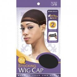 Bonnets pour perruques différentes couleurs disponibles (lot de 2)