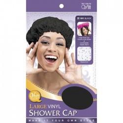 Bonnet de douche large noir