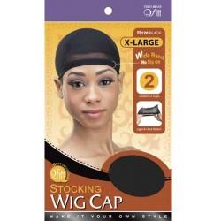 Bonnets pour perruque XL noir (lot de 2)