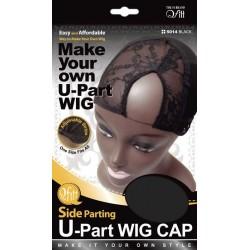 Bonnet pour perruque - U part wig - raie sur le côté