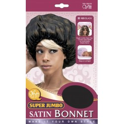 Bonnet en satin XXL