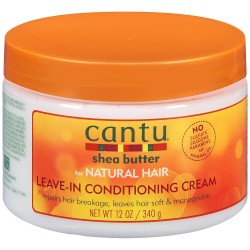 Cantu shea butter - Leave in conditioning cream natural hair (340g)