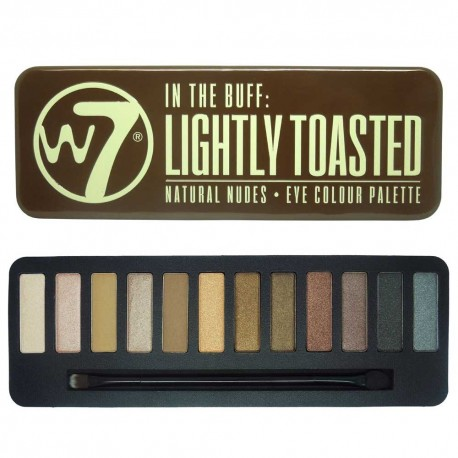 W7 Lightly Toasted palette fards à paupière