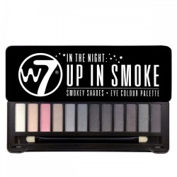 W7 Up In Smoke palette fards à paupière