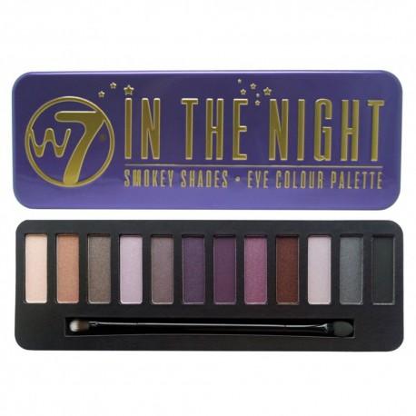 W7 In The Night palette fards à paupière