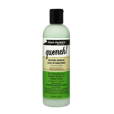Aunt Jackies Quench Moisture Intensive Leave-In Conditioner (355ml)
