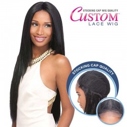 "Lace Wig Custom Yaki 30"" Sensationnel"