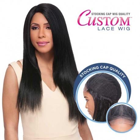 "Lace Wig Custom Yaki 24"" Sensationnel"