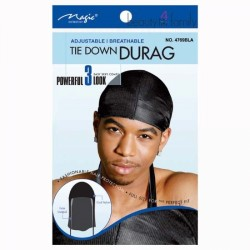 Durag noir homme Magic Collection