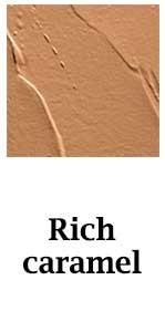 Rich caramel