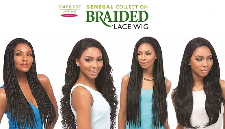Sensationnel braided wig