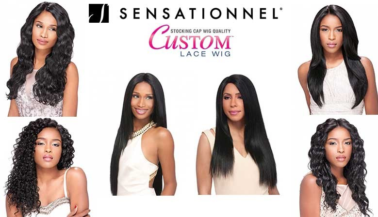 Lace wig Custom Sensationnel